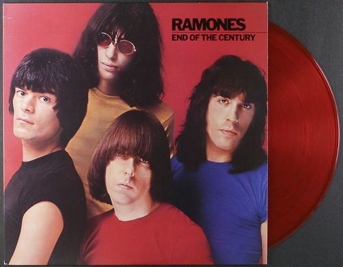 Ramones End Of The Century Red Vinyl Vinyl Lp
