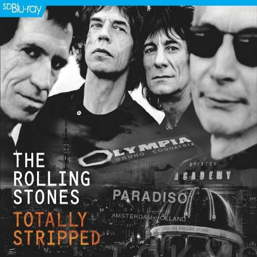 The Rolling Stones Totally Stripped Cd Blu Ray Cd