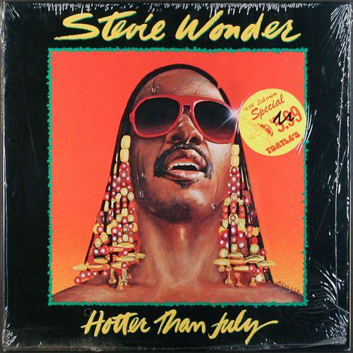 Stevie Wonder Hotter Than July 1980 Issue Vinyl Lp