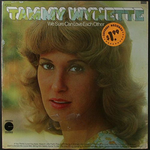 Tammy Wynette We Sure Can Love Each Other Vinyl Lp