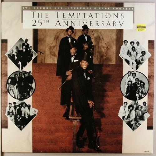 The Temptations 25th Anniversary Vinyl Lp Amoeba Music