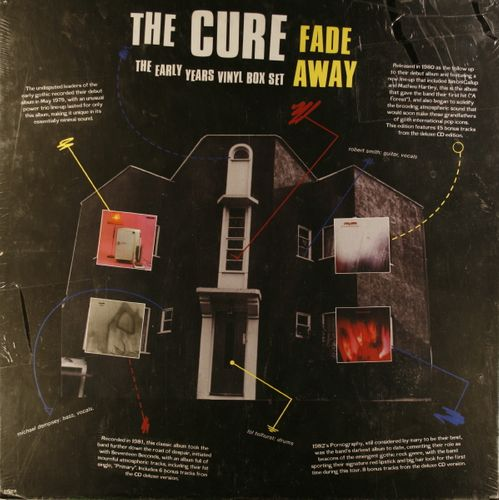 The Cure Fade Away The Early Years Box Set Vinyl Lp