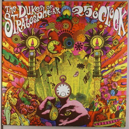 The Dukes Of Stratosphear 25 O Clock Vinyl Lp Amoeba