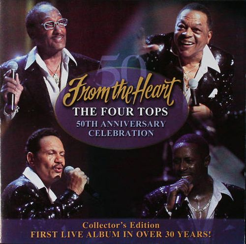 The Four Tops From The Heart Cd Amoeba Music