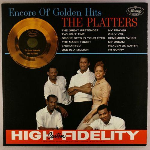 The Platters Encore Of Golden Hits Vinyl Lp Amoeba Music
