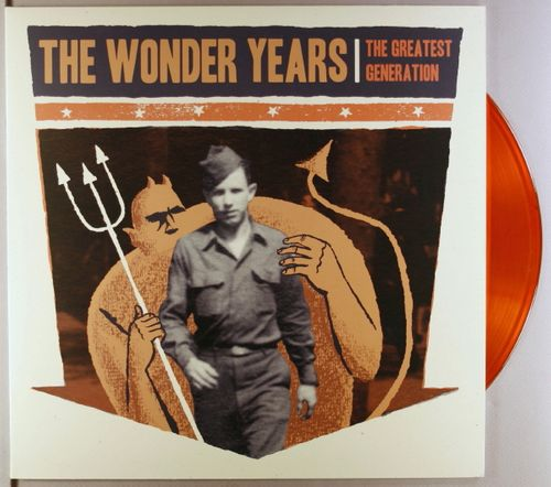 The Wonder Years The Greatest Generation Orange Vinyl