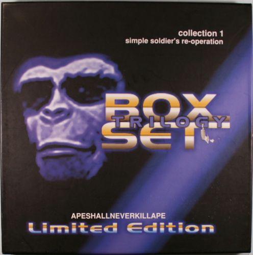 Unkle Trilogy Box Set Japan Limited Edition Vinyl