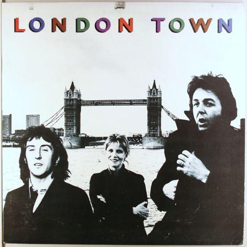 Wings London Town Uk Issue Vinyl Lp Amoeba Music
