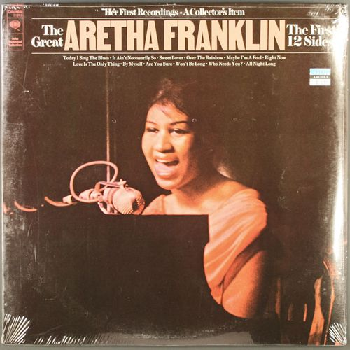Aretha Franklin The Great Aretha Franklin The First 12
