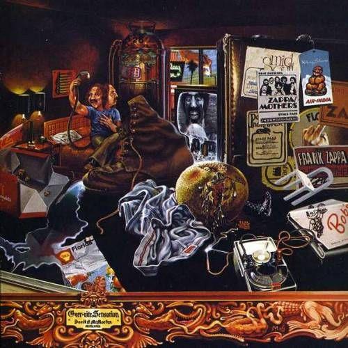 Frank Zappa The Mothers Over Nite Sensation Cd