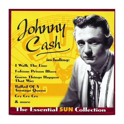 Johnny Cash Essential Sun Collection Import Cd