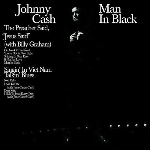 Johnny Cash Man In Black 180 Gram Vinyl Vinyl Lp