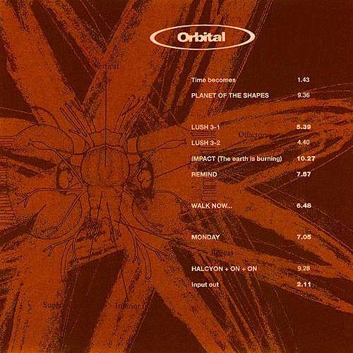 Orbital Orbital 2 Brown Album Vinyl Lp Amoeba Music