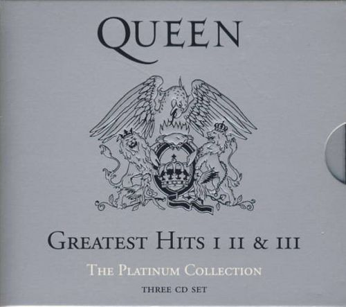 Queen Greatest Hits I Ii Amp Iii The Platinum Collection