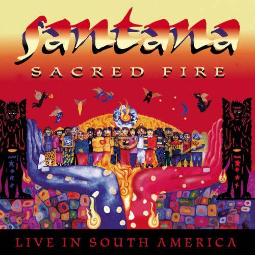 Santana Sacred Fire Live In South America Cd Amoeba