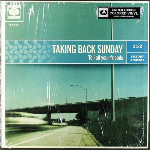 Taking Back Sunday Tell All Your Friends Green Marble