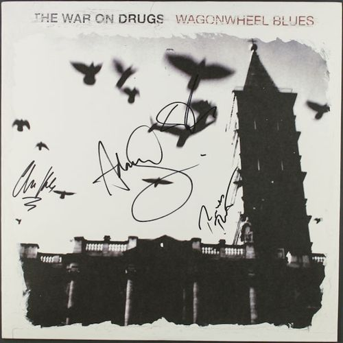 The War On Drugs Wagonwheel Blues Signed Vinyl Lp