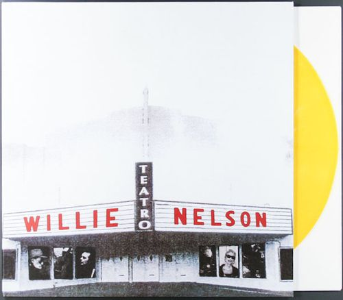 Willie Nelson Teatro Record Store Day Remastered Gold