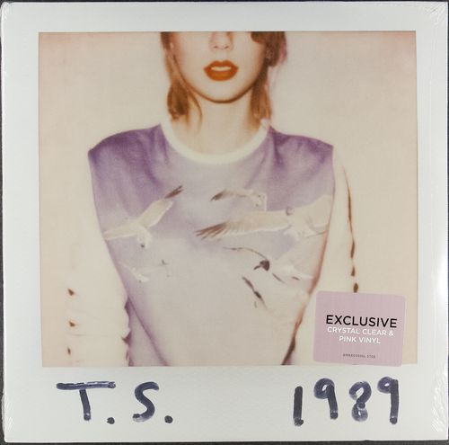 Taylor Swift 1989 Record Store Day Clear And Pink Vinyl