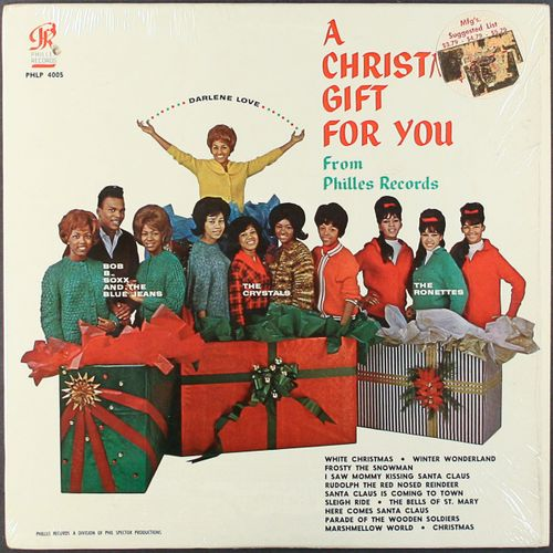 Various Artists, Phil Spector - A Christmas Gift For You