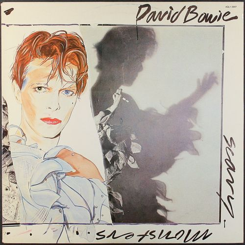 David Bowie Scary Monsters 1980 Issue W Stamps Vinyl