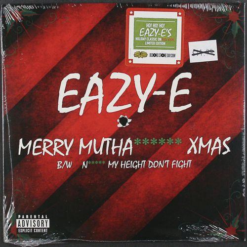 Eazy E Merry Muthafuckin X Mas Black Friday Vinyl 7