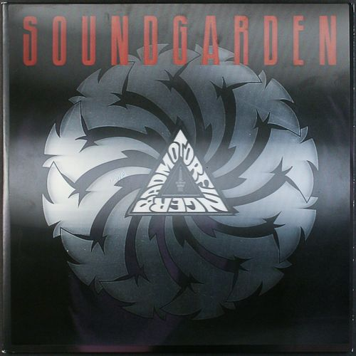 Soundgarden Badmotorfinger Remastered Silver Vinyl