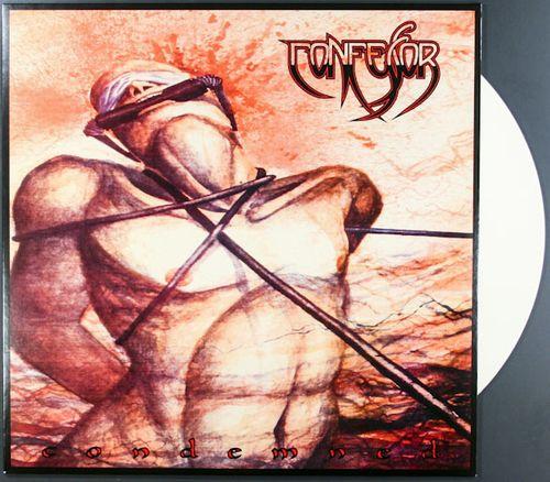 Confessor Condemned 180 Gram White Vinyl Vinyl Lp