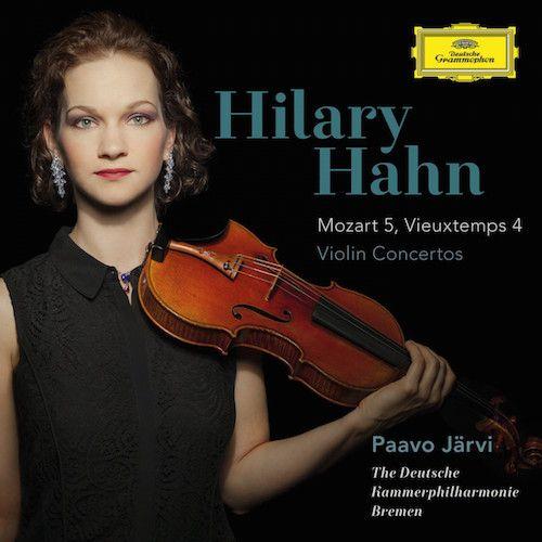 Wolfgang Amadeus Mozart, Henri Vieuxtemps, Hilary Hahn, Paavo Järvi