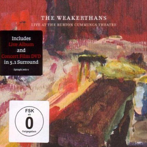 The Weakerthans Live At The Burton Cummings Th Vinyl Lp