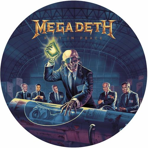 Megadeth Rust In Peace Limited Edition Picture Disc