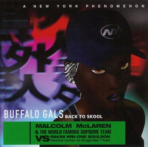 Malcolm Mclaren Buffalo Gals Back To Skool Cd Amoeba