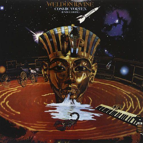 Weldon Irvine Cosmic Vortex Justice Divine Vinyl Lp