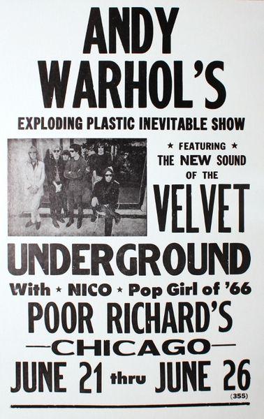 Andy Warhol Velvet Underground Amp Nico Exploding