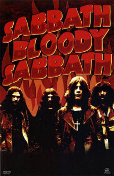 Black Sabbath Sabbath Bloody Sabbath Poster Amoeba Music