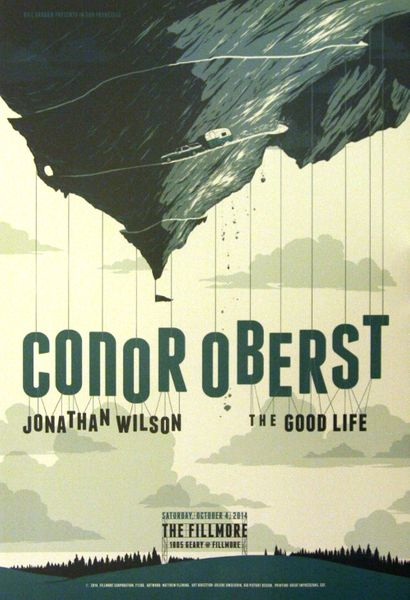 Conor Oberst - The Fillmore - October 4, 2014 (Poster ...