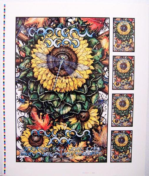 Grateful Dead Fall Tour 1995 Poster Amoeba Music
