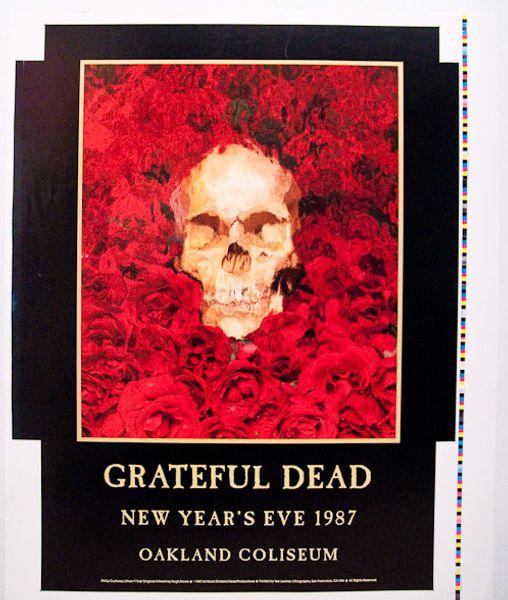 Grateful Dead Oakland Coliseum December 31 1987