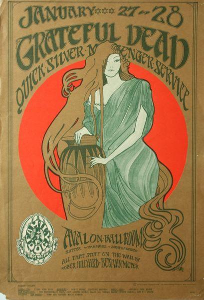Lot Detail - 1966-FD-33-OP-3-Avalon Ballroom-Grateful Dead