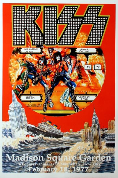 kiss - madison square garden
