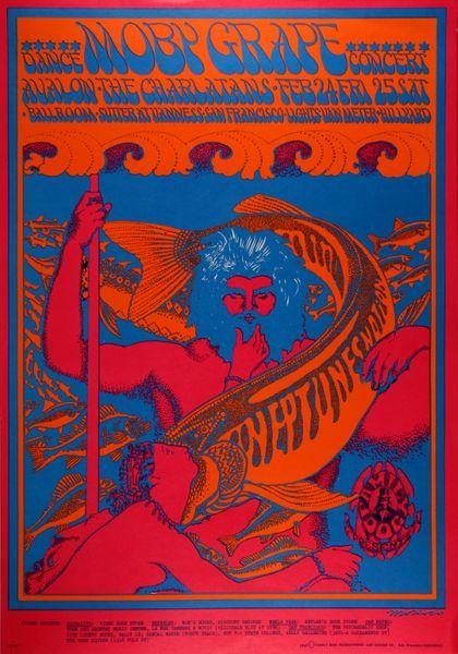 Moby Grape The Avalon Ballroom February 24 25 1967
