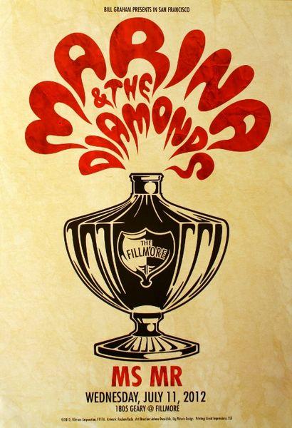 Marina And The Diamonds The Fillmore July 11 2012