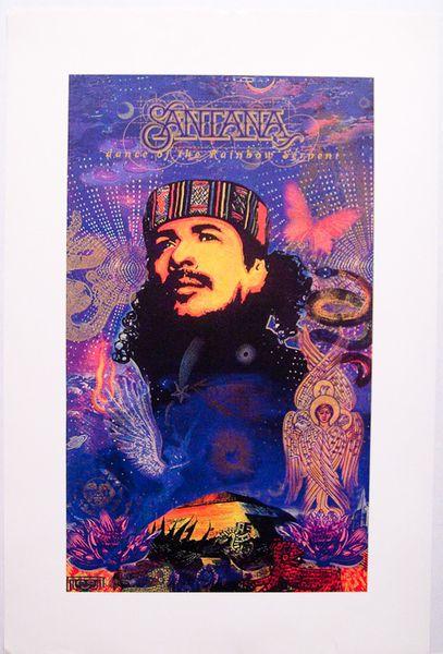 Santana Dance Of The Rainbow Serpent Poster Amoeba Music
