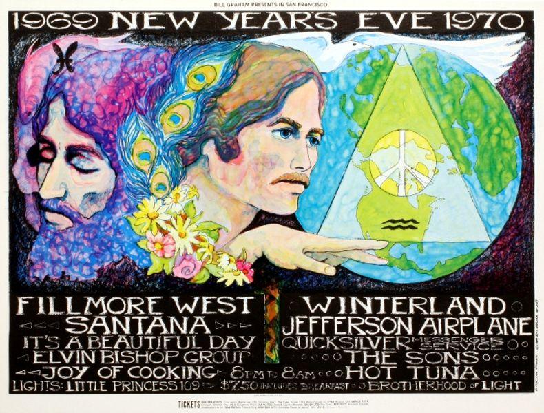 Jefferson Airplane - Winterland - December 31, 1969 / Santana - The