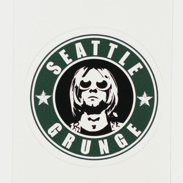 kurt cobain sticker choice image