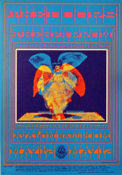 The Doors Avalon Ballroom May 12 13 1967 Poster