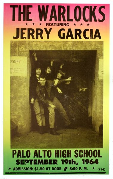 The Warlocks Jerry Garcia Palo Alto High School