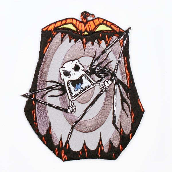 nightmare before christmas jack skellington pumpkin king patch - Christmas Jack Skellington