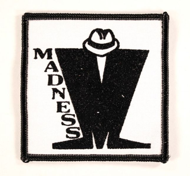 Madness Zoot Suit Logo Patch Amoeba Music