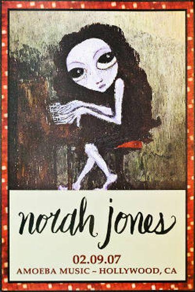Norah Jones Live At Amoeba Hollywood Poster Amoeba Music